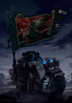 Dark Angels 2nd Company by Nord-Sol