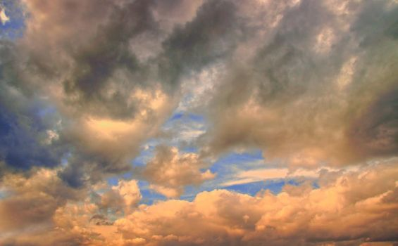 Sun Clouds Skyscape by AStoKo