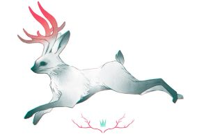 Jackalope by Lun-acy