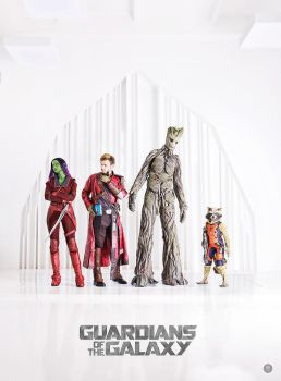 Guardians of the Galaxy by niamash