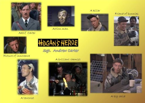sgt. andrew carter - hogan's heroes by maddy-winkel