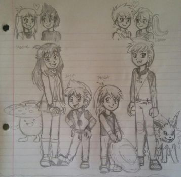 Another Fanchildren Redraw by awesomeshadow773