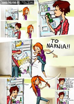 ever been kicked inthe fridge? by mykie-t