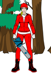College football fangirl woodcutter Louisiana by Usaporkchops