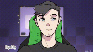 [GIF] Jacksepticeye anime! by KaiMidnightwave