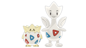 MMD PK Togepi and Togetic DL by 2234083174