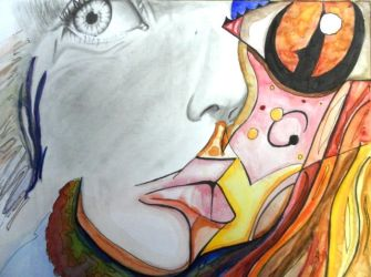 Abstract Self Portrait by Motorquest