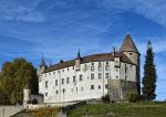 Chateau Medieval Suisse / Medieval Swiss Castle by LePtitSuisse1912