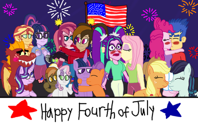 Happy Fourth of July by bigpurplemuppet99