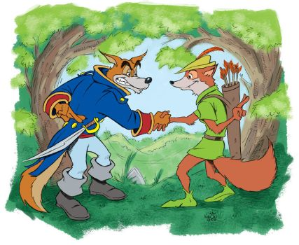 Disney's Robin Hood and... by KneonT