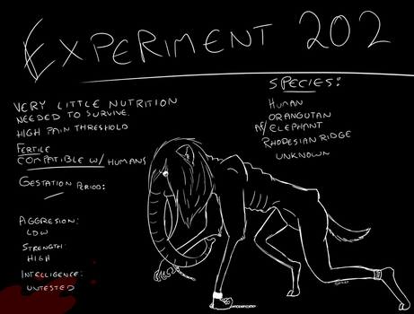 Experiment 202 by BaileyisDarcy