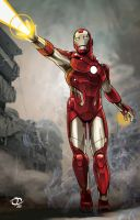 Iron Man by Tloessy