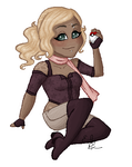Comm: Messy Pixel Miranda by emilythesmelly