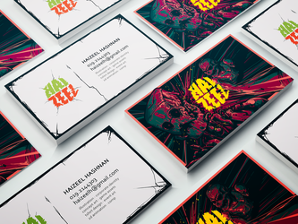 Haizeel Business Card by Haizeel