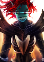 Undyne the Undying by 4th-reset