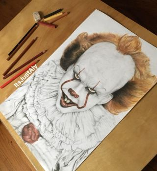 Pennywise by ItsJustAly