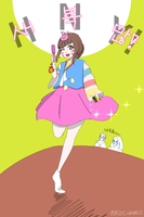 Year of the Rooster D.va! by cozyvase