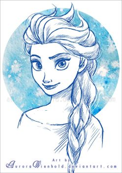 Elsa by RoryonaRainbow