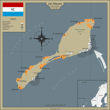 The Island of Jan Mayen by Panzerbyte