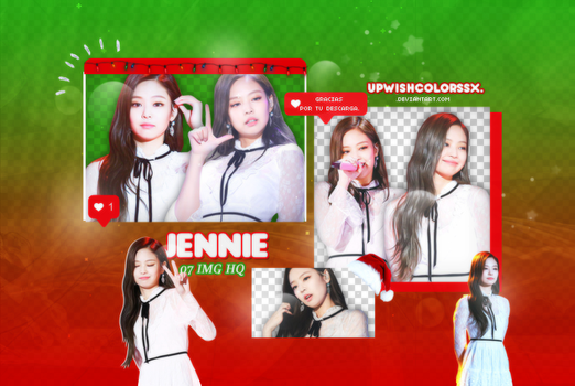 JENNIE PNG PACK#3/BLACKPINK by Upwishcolorssx