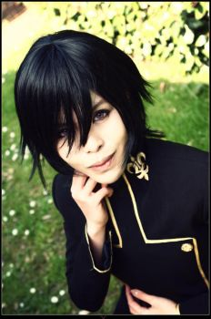 Code Geass: Lelouch Lamperouge by rosiael