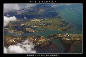 Brisbane River Mouth by Keith-Killer