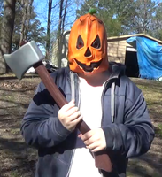 Jack O' Tim the Pumpkin Slasher by TwistedDarkJustin