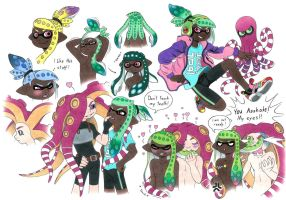 Splatoon OC by Megaloceros-Urhirsch