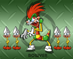 SMRPG: Bowyer by professorfandango