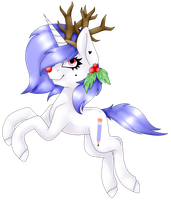 YCH for OhDrawingHeart - Reindeer by AdaKola