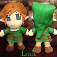 LoZ Link Plushie by TheDoorWithin
