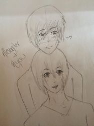 Alexander + Ryou by BurghandyKitty