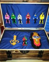 Gokaiger Treasure Chest Display Box by ZanderYurami