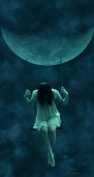 One With The Moon by AnnyDraconis999