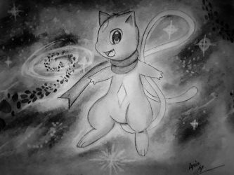 Florium, the Mew by Xyvier