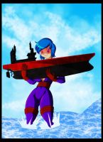 Megalith to rescue by Animewave-Neo