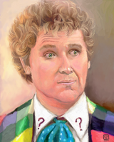 Colin Baker as The Sixth Doctor by The-Tinidril