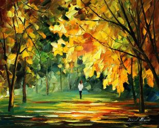 Rich thoughts by Leonid Afremov by Leonidafremov