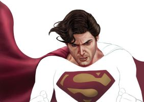 EVIL SUPERMAN work in progress by supersebas