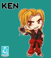 Street Fighter V -  Ken [Maplestory Style] by RedCaliburn