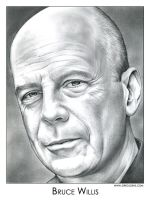 Bruce Willis by gregchapin