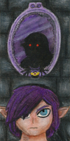 Shadow Link bookmark by DarkMageVarja