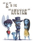 A Is For Avatar by OtisFrampton