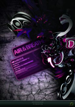 Air And Breathe Flyer by jakedermad