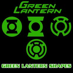 Green Lantern Vector Shapes by Retoucher07030