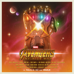 INFINITY WAR poster by melies