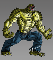 Killer Croc by ADL-art