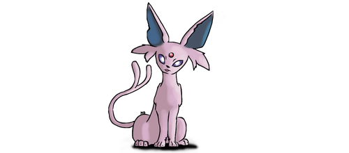 Espeon, the psychic son of daylight eeveelution by MandyDreamer