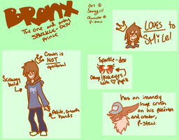 The one and only Bronx reference sheet by Samagirl