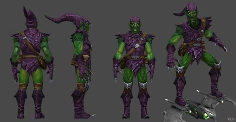 Green Goblin CoC by SSingh511